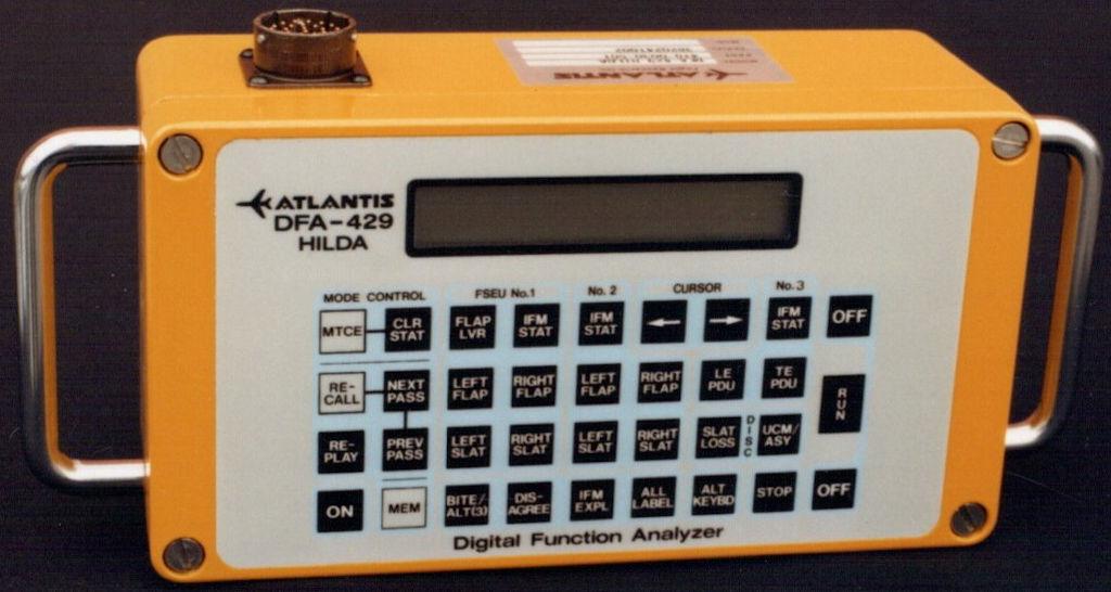 Atlantis Avionics Test Equipment DFA-429