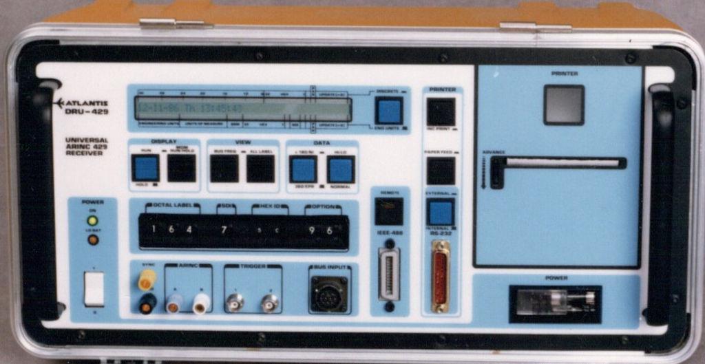 Atlantis Avionics Test Equipment DRU-429