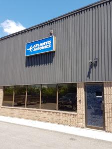 Atlantis Avionics Building Outside